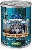 "WILDERNESS TROUT 12/12.5OZ ""Ctg: OTHER PET FOODS - BLUE BUFFALO DOG WET"""