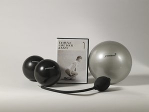 Yamuna Body Rolling Save Your Knees From Pain Kit – Two Black Rolling Balls, Yamuna Silver Ball, Yamuna Pump, Save Your Knees DVD – Manage and Relieve Knee and Leg Pain! Review