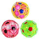 UEETEK Electric Colorful Socer Football Toy for Kids Dancing Singing Bouncing Ball