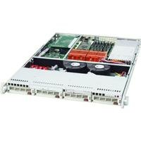Supermicro  1U Rackmount Server Chassis, Black CSE-813MT-300CB 300W