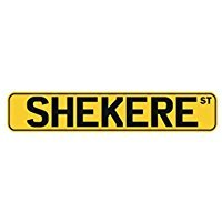 (Shekere ST - Instruments - Street Sign [ Decorative Crossing Sign Wall Plaque ])