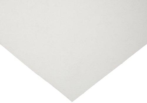 Ultra High Molecular Weight Polyethylene 12 Width Sheet Opaque White UHMW 12 Length 1//4 Thickness ASTM D4020 Standard Tolerance