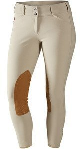 Tailored Sportsman Girls Trophy Hunter Low Rise Front Zip (Tan, 16R) ()