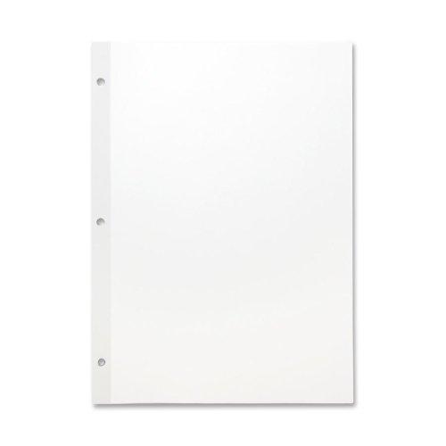 Sparco Mylar Reinforced Filler Paper - 100 Sheet - 20 lb - Unruled - Letter 8.50