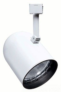 Juno Lighting R502W-WH Round Back Cylinder Trac Track Head White