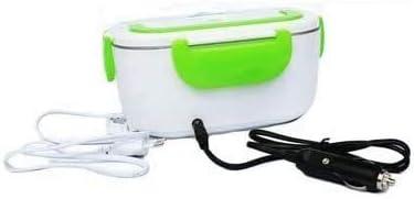 12V / 110V 220 V à double usage Accueil Boîte à lunch Thermostat réchaud Container Mini Rice Cooker UE US Plug bleu Liner en plastique deux plug DDLS