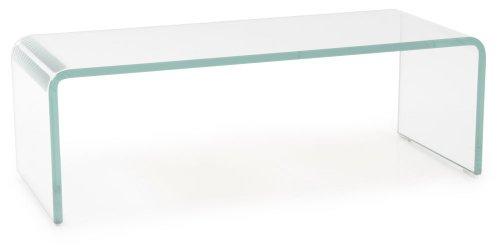 Bhp Tv Schrank Glasaufsatz Monitorerhöhung Glas Gebogen Transparent