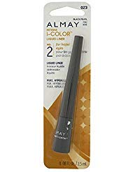Almay Intense i-Color Liquid Liner, Black Pearl [023], 0.8 oz (Pack of 3)