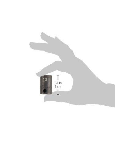 SK Hand Tool 8963 3//8-Inch Drive Standard Impact Socket 13mm
