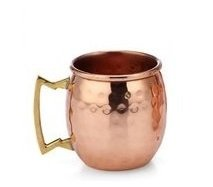 STREET CRAFT 100% Authentic Hammered Copper Moscow Mule Shot Mug Capacity 2 Oz Pack of 1 - Classic Alice In Wonderland Costume Ideas