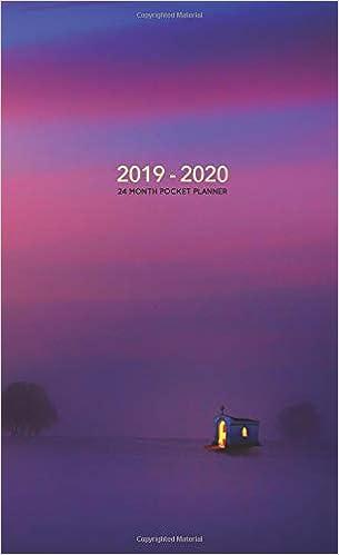 2019-2020 24 Month Pocket Planner: Two-Year Organizer   Mini ...