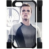 Every New Day The Hunger Games Peeta Mellark Josh Hutcherson Unique Custom 5 or 5S Best Polymer+ Rubber 3D Cover Case