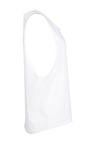 Señoras Once De París Damical Tanque W Blanco Blanc