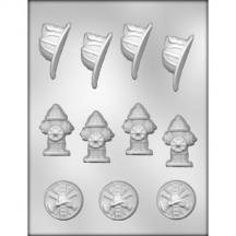 (3 Pack Fire Fighter Mold)