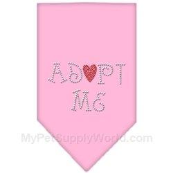 Dog Supplies Adopt Me Rhinestone Bandana Light Pink Large, My Pet Supplies