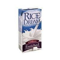 Imagine Foods Enriched Vanilla Rice Beverage 32 Oz (Pack of 12)