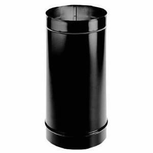 (M & G Duravent 10DBK-12 10 Inch x 12 Inch Dura-black 24-ga Welded Black Stove... )