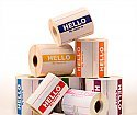 "250 Labels 3-1/2"" x 2-3/8"" Hello My Name Is PINK Name Tag Identification Stickers"