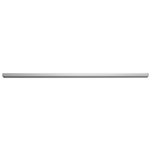 ADVANTUS Grip-A-Strip Display Rail, Large Note Holder, 12 Inches Long, Satin Aluminum Finish (1025)