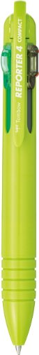 Tombow Reporter 4 Compact Pen, Lime Green, - 4 Reporter Tombow Compact