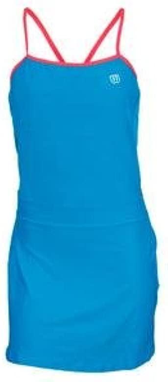 Wilson - Vestido de pádel para Mujer, tamaño S, Color Cyan/Rosa ...