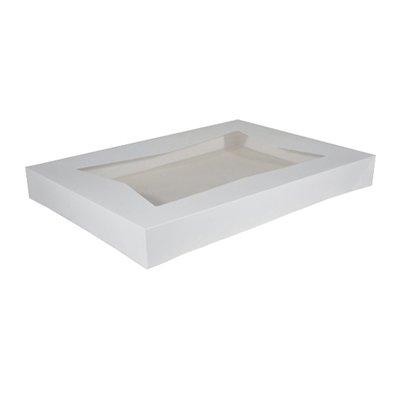 Window Cake Box 25x19x3, 50 ct (very durable)