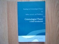 Readings for Criminological Theory: A Brief Introduction