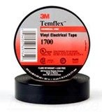 3M(TM) Temflex(TM) Vinyl Electrical Tape 1700, 1 in x 66 ft
