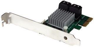 StarTech PEXSAT34RH - Tarjeta controladora con disipador