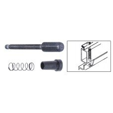"""CRL Die Cast Plunger Latches for 3/4"""" x 3/8"""" or 7/16"""" Screen Frame - Bulk Package"""