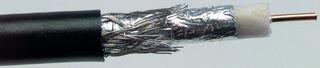 BELDEN 1189A 0101000 COAXIAL CABLE, QUAD SHIELD, RG6/U, 1000FT, BLACK (Belden Quad Shield Rg6 Cable)