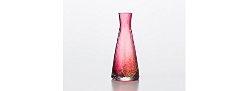 Edo Glass Red Boli Japan Kitchen Product Floral Bud Vases by Toyo Sasaki Glass (Image #2)'