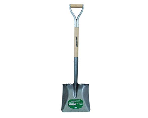 - Masterforce Transfer Shovel Square Point with D Handle, 41 Inch H