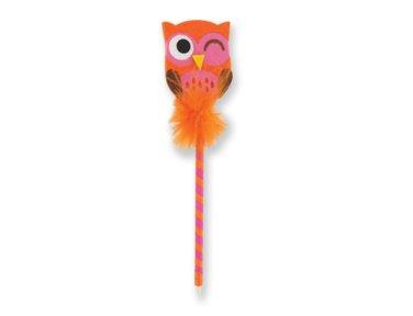 Amazon.com: Give a Hoot. Búho pluma por DM Merchandising ...