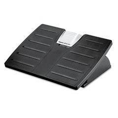 Microban Adjustable Footrest - Plastic - Fellowes Office Suites Adjustable Footrest with Microban