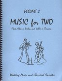 Music for Two Volume 2 - Flute, Oboe or Violin and Cello or Bassoon ()