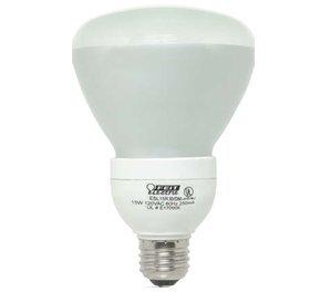 15w Br30 Cfl (Feit Electric ESL15R30/DIM ECOBulb Dimmable 15W/65W 120V BR30 Soft White CFL Flood)