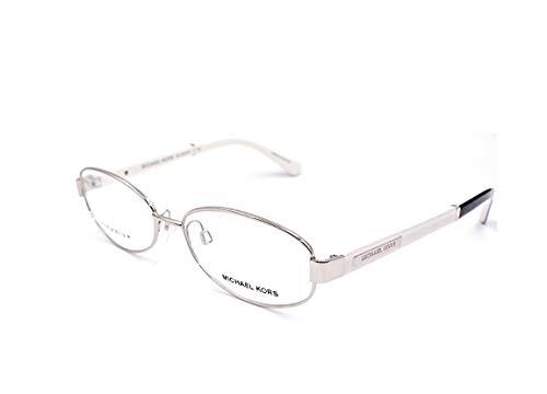 Michael Kors MK3003DT - 1012 Asian Fit Eyeglasses Silver Tit