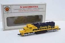 Bachmann N Locomotive EMD GP40 SANTAFE B07SWTMF5T