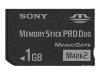 (Sony 1 GB Memory Stick PRO Duo Flash Memory Card MSMT1G)