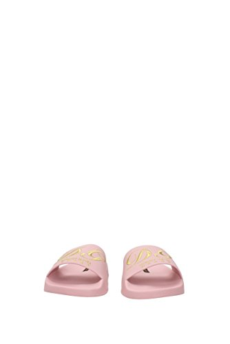 Dolce&Gabbana Ciabatte e Zoccoli Donna - Pelle (CW0048AG8098L491) 39 EU