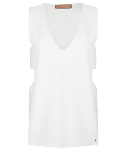 JOSH V - Camiseta sin mangas - para mujer blanco