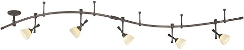 Monorail Track Lighting Kit - Minka Lavery Flexible Track Lighting Kit Bronze 4215-467 Monorail Light System 250 Watt, Halogen