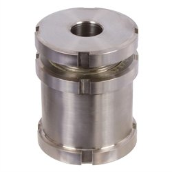 Precision levelling adjuster with locknut MN 686.2 20-9.0 stainless steel MAEDLER 68699215