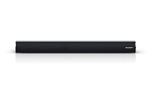 """21tX3zceWyL Haz clic aquí para comprobar si este producto es compatible con tu modelo Potente Bluetooth Mini Soundbar System: experiencia de entretenimiento para juegos o cine en casa con su TV; ideal para televisores y monitores pequeños con una diagonal de pantalla de 32"""" o superior Perfecto para la sala de estar, la cocina, el comedor o incluso el dormitorio; se adapta a la pantalla de la mayoría de los televisores y monitores gracias a su perfil bajo y delgado (6 cm);"""