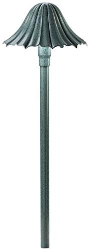 Kichler 15314MST Path & Spread 1-Light 12V, Textured Midnight Spruce - Kichler Green