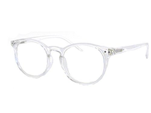 #1 Flexlite Uv Protection, Anti Blue Rays Harmful Glare Computer Eyewear Glasses (schoolboy shiny clear) ()