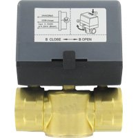 3 Way Modulating Valve - W.E. Anderson Two-Way Detachable Zone Valve, ZV20214, Floating, 1/2