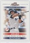 Derek Jeter #1337/1,996 (Baseball Card) 2003 Playoff Prestige - Award Winners #AW-15 - 2003 Playoff Prestige Award
