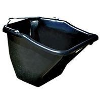 LITTLE GIANT Plastic Better Bucket, 10-Quart, Black by LITTLE GIANT (Image #1)